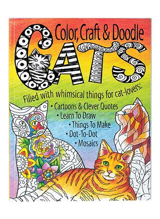 Main Cats, Color, Craft Doodle Book