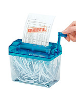 Product Review Manual Paper Shredder