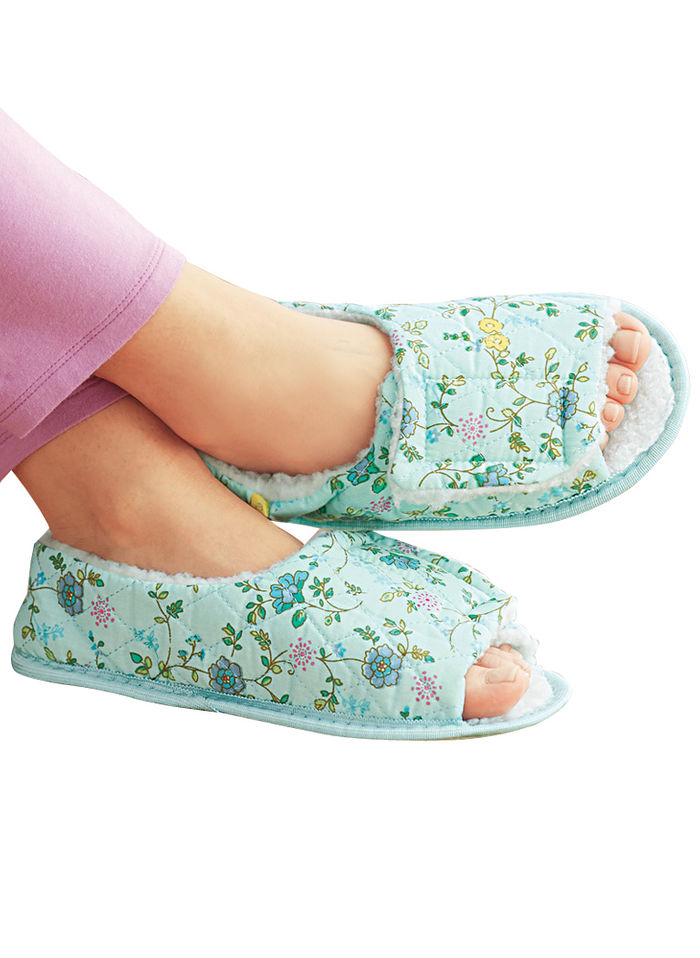 Open Toe Edema Slipper