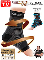 Product Review Copper Fit® Foot Relief Foot & Ankle Support