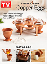 Product Review Copper Chef™ Copper Eggs XL™