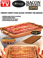 Product Review Gotham Steel™ Bacon Bonanza Large