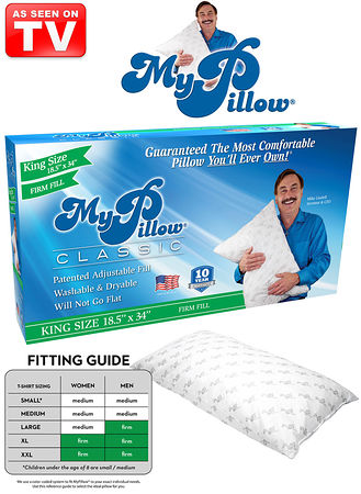 Main My Pillow® King Size Firm
