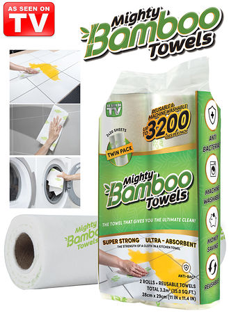 Main Mighty Bamboo Towels