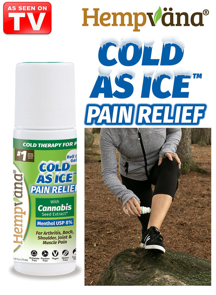 Hempvana® Cold As Ice™ Pain Relief