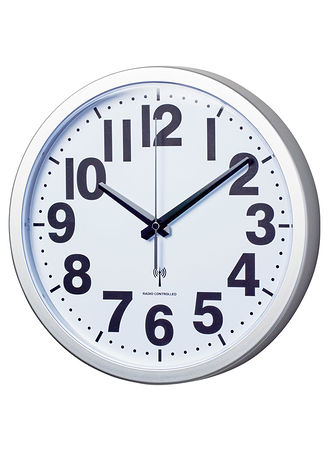 Main Atomic Analog Wall Clock