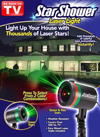 Main Star Shower Laser Light