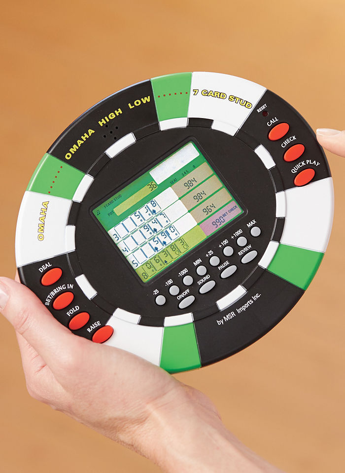 Electronic 3-in-1 Poker Game