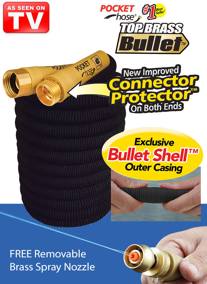 Pocket Hose® Top Brass® Bullet™