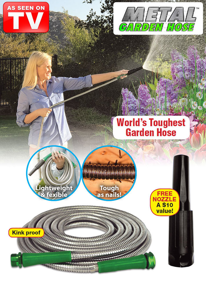 The Original Metal™ Garden Hose