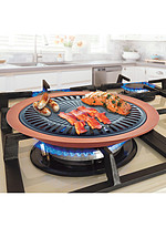 Product Review Nonstick Copper Indoor Smokeless Stovetop Grill