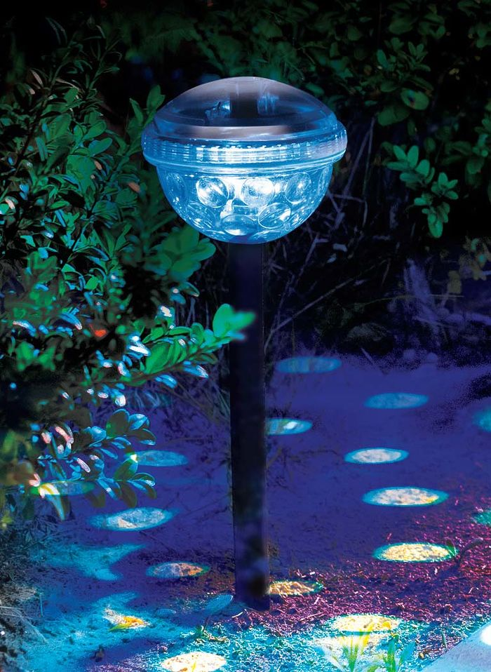 Color-Changing Solar Lights