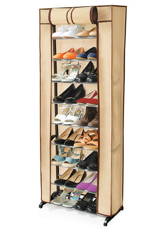 Main Shoe Rack with Cover
