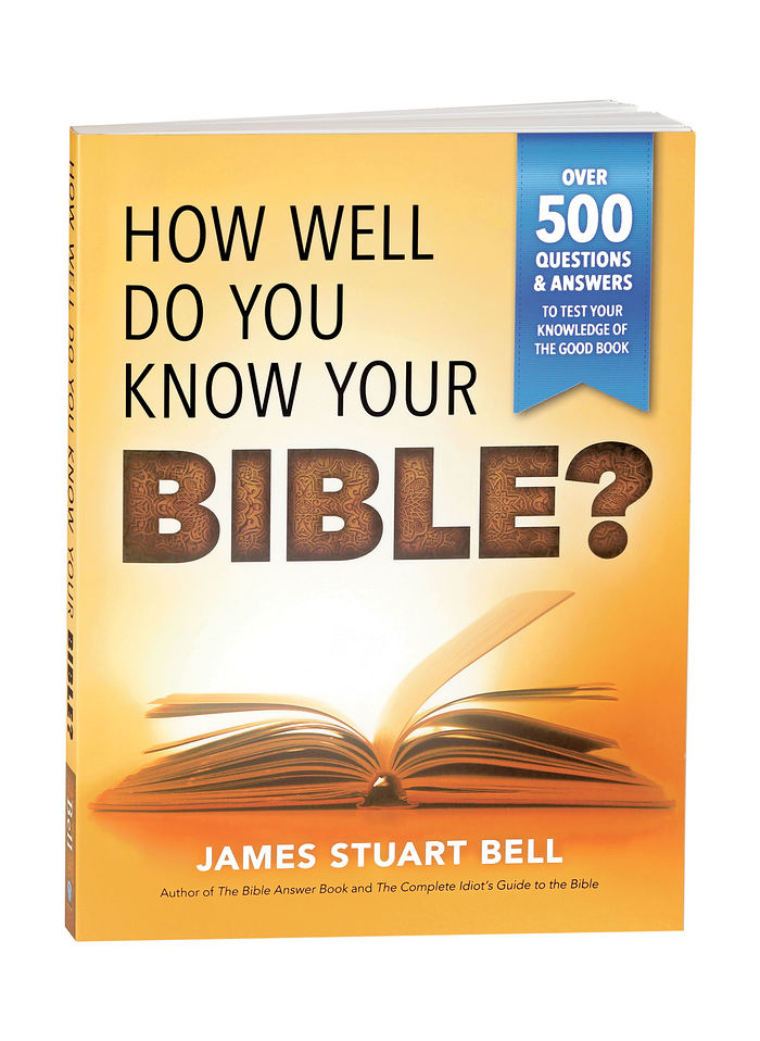"""How Well Do You Know Your Bible?"" Book"
