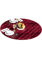 Product Review Wood Look Tablecloth