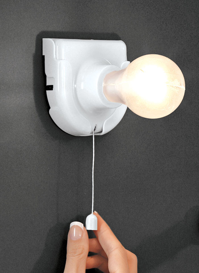Stick-up Light Bulb
