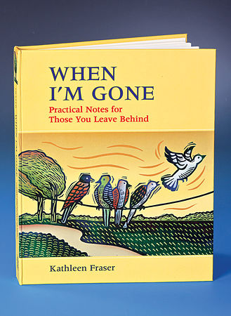 Main When I am Gone Book
