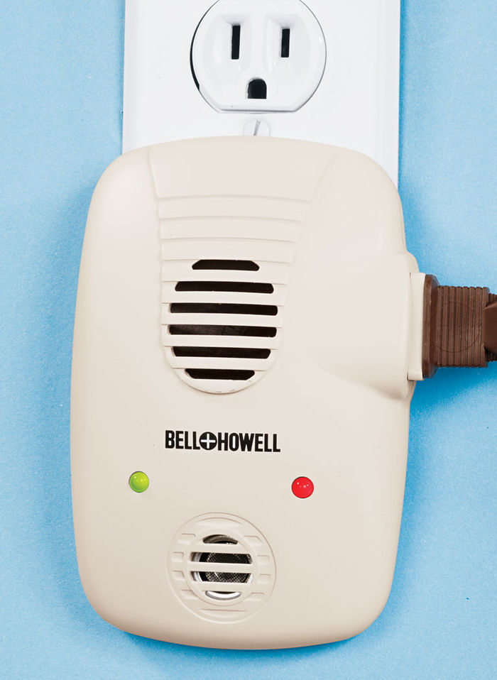 Bell & Howell® Ultrasonic Pest Repeller