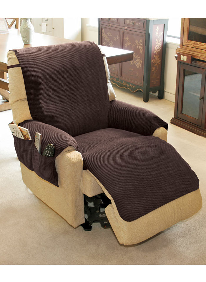 Chenille Recliner Cover