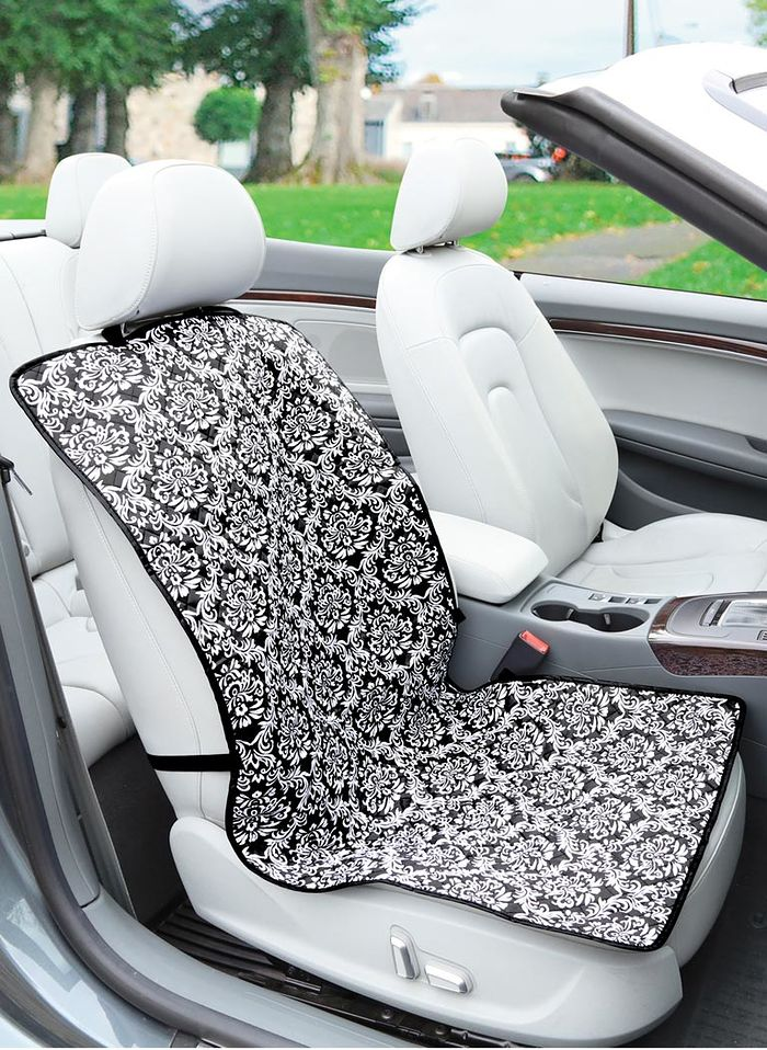 Damask Bucket Seat Cover