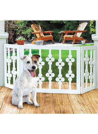 Main Flower Style Pet Gate