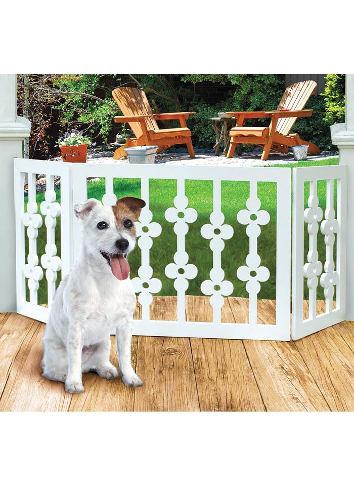 Flower Style Pet Gate