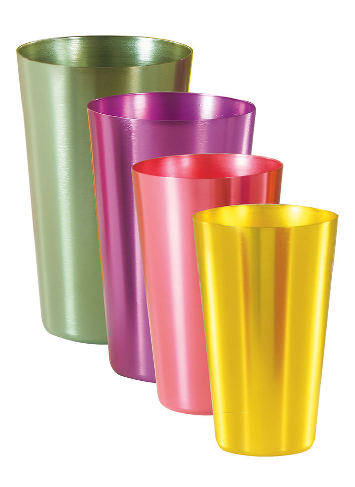 Aluminum Tumbler - Set of 4