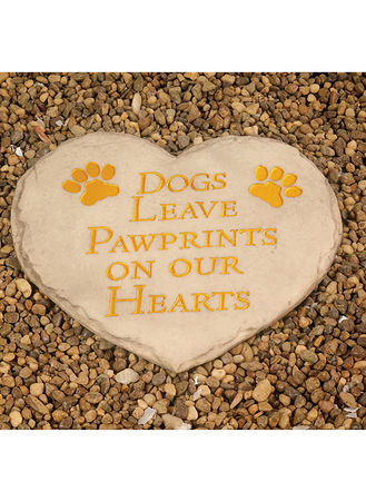 Main Pawprints Stepping Stone