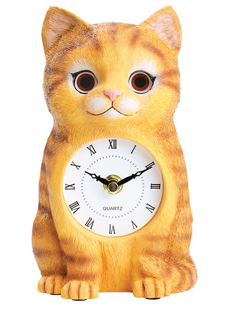 Main Cat Clock with Moving Eyes